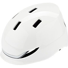 Lumos Matrix Kask, jet white